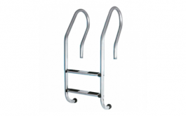 Stainless Steel 2 Steps Pool Ladder – Parallel/ Futuristic Type #304